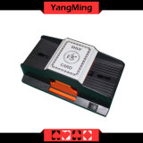 Macau-Kasino-Schürhaken-engagierter automatischer KarteShuffler für 1 - 2 Plattform-Spielkarten Ym-CS03