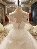 Vestidos de casamento superiores da princesa União Curto Luva da chegada 2017 novos