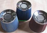 Líquido de limpeza vermelho do filtro de ar do automóvel do plano 3in universal para a tubulação da entrada de ar do carro