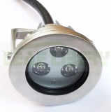 강력한 3W 의 9W RGB 수중 LED 샘 빛