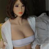 muñeca realista de tamaño natural del sexo del silicón de la carrocería completa del 158cm