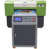 Impressora Flatbed UV do diodo emissor de luz do Inkjet do certificado do Ce para o vidro, o cartão do PVC e o cerâmico
