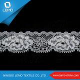 Tessuto in rilievo Ivory del merletto per il vestito da sera di Applique