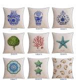 適度な綿のソファーの飾ることのためのリネン投球および枕セット