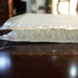 Tissu évidé de fibre de verre