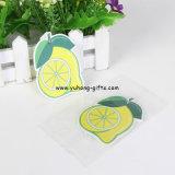 Ambientador de aire limoniforme del papel de la fragancia del limón de la fruta (YH-AF123)