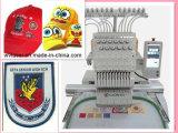 Alles kopiert einzelne Hauptschutzkappe u. flache Stickerei-Maschine---Wy1201CS/Wy1501CS
