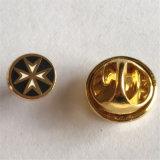 금 완료 검정 잎 접어젖힌 옷깃 Pin를 만드는 공장