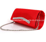 [كلوشس] زمّ حقيبة مساء نساء مع قارض محفظة