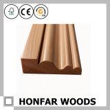 Contorno de madeira ou molde da coroa do teto