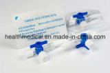 Prodotti caldi per un rubinetto di chiusura medico a gettare di 3 modi