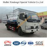 4cbm Dongfeng Fecal Camión de succión Euro4
