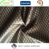 100 Polyetser Satin Dobby Forro de tecido Fornecedor Suit Lining