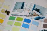 Scheda di colore di stampa per vernice decorativa