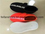 Ботинки спорта обуви ботинок холстины впрыски детей (FFZL1031-02)