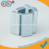 Vierecks-Block-Magnet mit einer versunkenen Nut