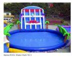 Neuer im Freien riesiger aufblasbarer Wasser-Park des Pool-2017