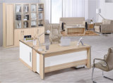 新しいL形の現代支配人室の家具の机