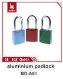 BdA03青いOEMのアルミニウム安全パッドロックのセリウム、RoHS、SGS