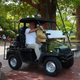 200cc 4 Seaterのガソリン式のゴルフカート