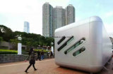 Arquitectónicos paneles sándwich de nido de abeja de aluminio decorativo