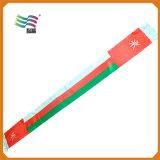 Шарф вентиляторов шелка сатинировки Qutar для веселит вверх (hys02)
