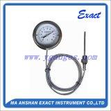 Tutto il termometro Termometro-A distanza del vaso capillare della Termometro-Flangia della lettura dell'acciaio inossidabile