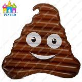 Aufblasbarer Poop-Pool-Gleitbetrieb riesiger Emoji aufblasbarer Floß Poo Gleitbetrieb