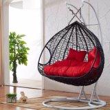 二重振動藤の家具、藤のバスケット(D151C)