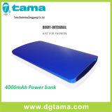 Cargador de aluminio fino portable Ultra-Delgado Powerbank elegante para los teléfonos móviles