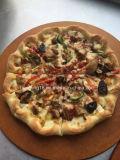 Bom preço 12 do aço inoxidável do transporte da pizza polegadas de gás do forno