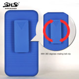 Combo de Shs avec le cas annexe mobile de téléphone cellulaire de PC de qualité de clip de Blet pour l'iPhone 7