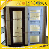 Подгонянная профессионалом алюминиевая раздвижная дверь алюминия сползая окна