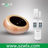 Iosか人間の特徴をもつAPPの制御された無線ホーム強盗の機密保護のWiFi GSMの警報システム