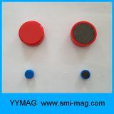 Pin magnétique de poussée de D11X17mm avec l'aimant de néodyme de D6X3mm