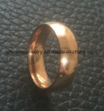 Juwelen Confirtable van Shineme namen de Gouden Geplateerde Ring toe van het Roestvrij staal (SSR2792)