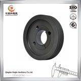 Fábrica del bastidor de arena de hierro del OEM de la fundición del bastidor del hierro gris de China para la polea de la rueda