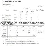 2.8 module de TFT LCD de pouce 240*320 MCU, Ili9341V, 37pin avec l'écran tactile