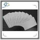 карточка PVC 13.56MHz M1/F08 пустая с отверстиями логоса и пунша