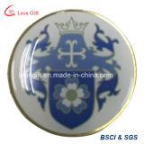 Pin modificado para requisitos particulares fábrica de la solapa de la impresión de la insignia para la promoción