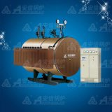 Caldera de vapor eléctrica de la industria horizontal de 2 T