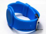 Je code le bracelet ultra-léger de silicones de Wrisband d'IDENTIFICATION RF de Sli pour le festival