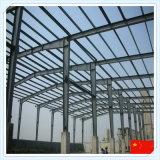 Helles vorfabriziertes Stahlkonstruktion-aufbauendes Stahlrahmen-Gebäude