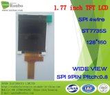 1.77 панель Spi 128*160 TFT LCD дюйма, St7735s, 9pin с экраном касания варианта