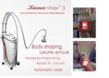 Carrocería del rodillo del masaje de la luz infrarroja del vacío de la dimensión de una variable III Velashape V8 RF de Kuma que adelgaza la máquina de la cavitación