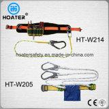 安全ロープの締縄が付いている構築か電気落下阻止の安全ベルト