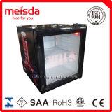 CE, RoHS, ETL, porte en verre de réfrigérateur d'étalage de CETL