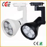 9W LED Track Light para loja de roupas Projectores de iluminação decorativa