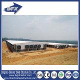 Granja avícola del edificio de la vertiente de la estructura de acero de la agricultura
