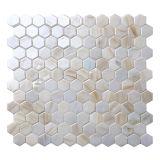 2017 mattonelle di mosaico di vetro della nuova dell'hotel della stanza da bagno della parete piscina della decorazione